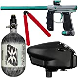Action Village Empire Mini GS Competition Paintball Gun Package Kit w/Air Tank (Gun Color: Dust Grey/Dust Teal, Tank Size: 68/4500)