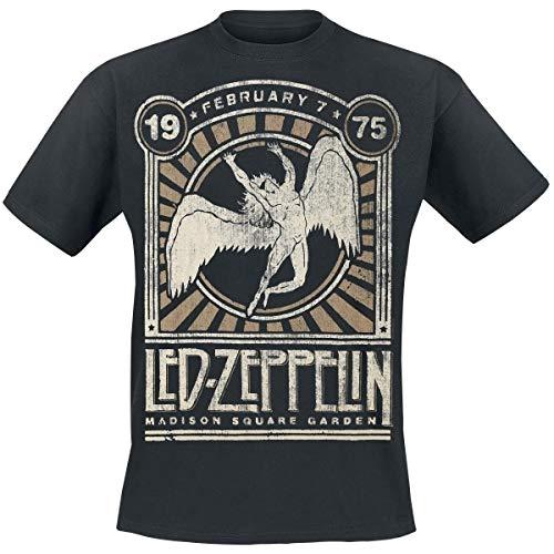 Madison Square Garden 1975 Led Zeppelin T-Shirt Men t Shirt