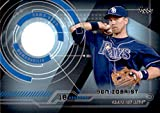 2014 Topps Trajectory Relics #TRBZ Ben Zobrist GAME USED JERSEY TAMPA BAY RAYS MLB Baseball Trading Card (Box227DOY)