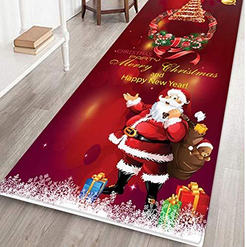MoonShip Christmas Decorations Sales, Merry Christmas Welcome Doormat, Indoor Home Carpet Decoration 40X120Cm Merry Christmas Decoration Christmas Decoration Decoration Party Decoration Gifts