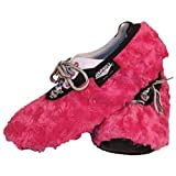 Brunswick Bowling Products Master Fuzzy Fuchsia Ladies Shoe Covers- Large