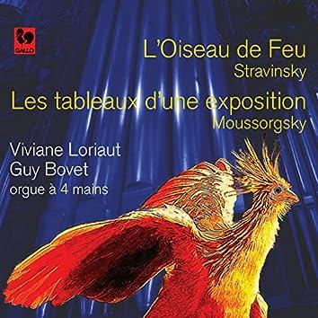 Stravinsky: L'oiseau de feu - Mussorgsky: Les tableaux d'une exposition