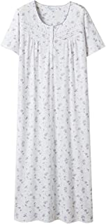 Nightgowns for Women, 100% Cotton Soft Lightweight Comfy...