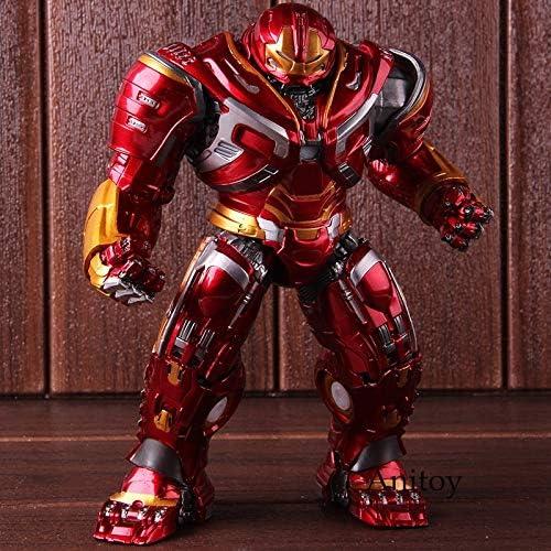 grandes ofertas Marvel Avengers Infinity Infinity Infinity War Mark44 Hulk Buster Figuras de acción Hulkbuster PVC Juguete Modelo Coleccionable con luz LED  las mejores marcas venden barato