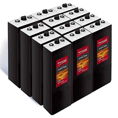 Batería Solar Estacionaria 715Ah C-100/12 Vasos   30% + Baratas que Baterías OPzS  ...
