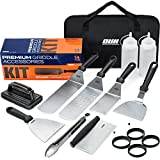 OUII Griddle Accessories Kit - Flat Top Grill Accessories 14 Pieces Set