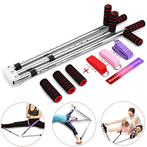 emdaot Leg Stretcher 3 Bar Leg Split Stretching Machine Martial Arts Yoga Flexibility Training