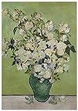 Panorama Póster Van Gogh Rosas 35x50 cm - Impreso en Papel 250gr - Póster Pared - Láminas para Enmarcar - Cuadros Decoración Salón - Pósters Decorativos - Cuadros Modernos
