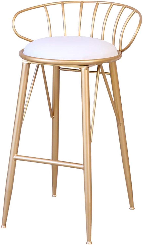 Bar Chair Lift Chair Home Back Bar Bar Stool redating Bar Chair Bar Chair High Chair Lift Chair FENPING (color   Yellow)