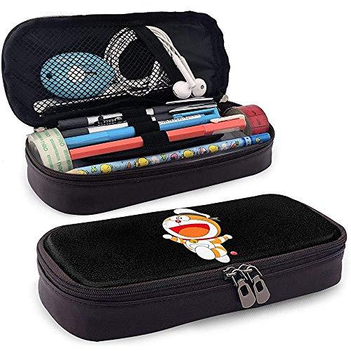 Fashion Doraemon Orange Sailor Leather-case for Unisex One Size Black 20 * 9 * 4cm