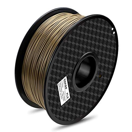 TIANSE Rame Filamento PLA per stampanti 3D, 1,75 mm, precisione dimensionale +/- 0,03 mm (2,2 lbs.)
