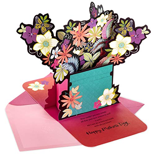 Hallmark Mahogany Pop Up Mothers Day Card from Son or Daughter (Powerful Gift)