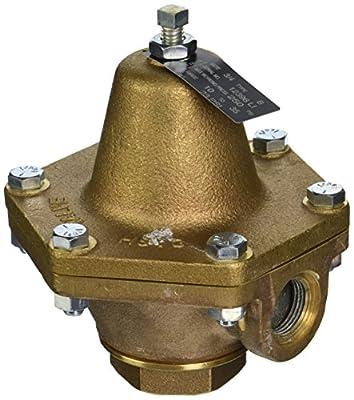"Cash Valve 12396-0023 Bronze Pressure Regulator, 10 - 35 PSI Pressure Range, 3/4"" NPT Female from Tyco Valves & Controls"