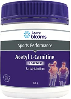Henry Blooms Acetyl L-Carnitine Fat Metabolism Powder, 250g