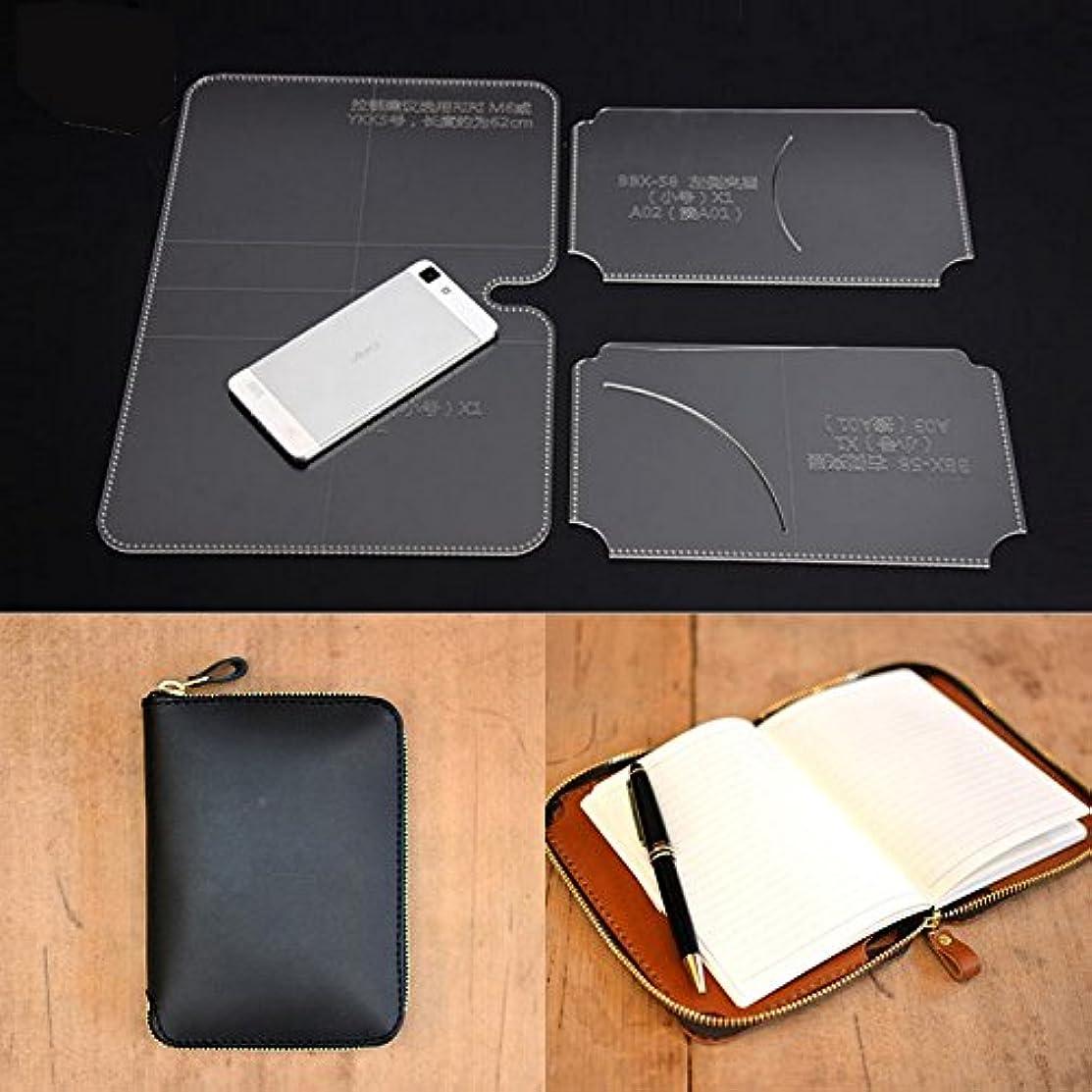 NW Handbag Acrylic Template Wallet Leather Pattern Acrylic Leather Pattern Leather Templates for Bags