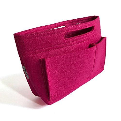 cravate バッグインバッグ インナーバック バッグオーガナイザー バッグの中を整理整頓するバッグ ヴィヴィッドピンク