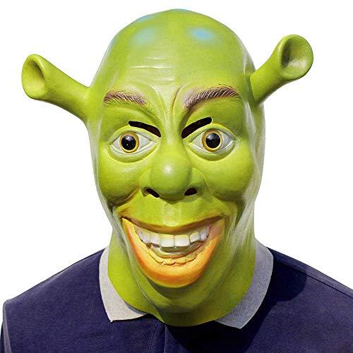 Does Not Apply Halloween Requisiten, Latex Masken, Shrek Masken, Parodie Filme Für Party Masquerades