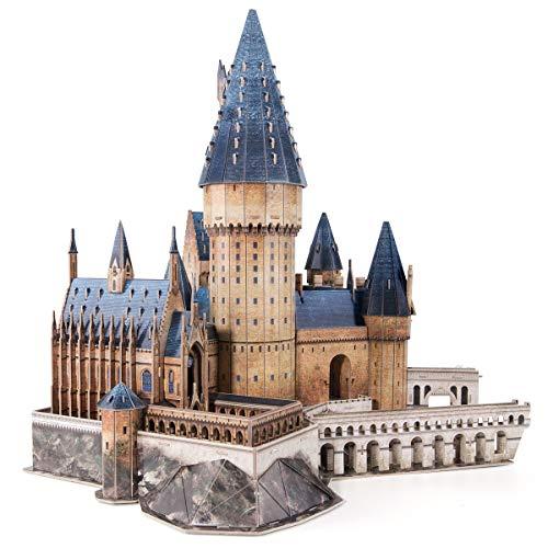 CubicFun Puzzle 3D Harry Potter Hogwarts Gran Salón Maquetas para Montar Kit de Construcción Puzzles 3D Souvenir Regalo para Adolescentes y Adultos, 187 Piezas Versión Grande