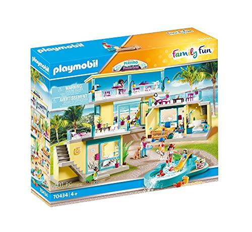 PLAYMOBIL Family Fun 70434 - PLAYMO Beach Hotel, Dai 4 anni