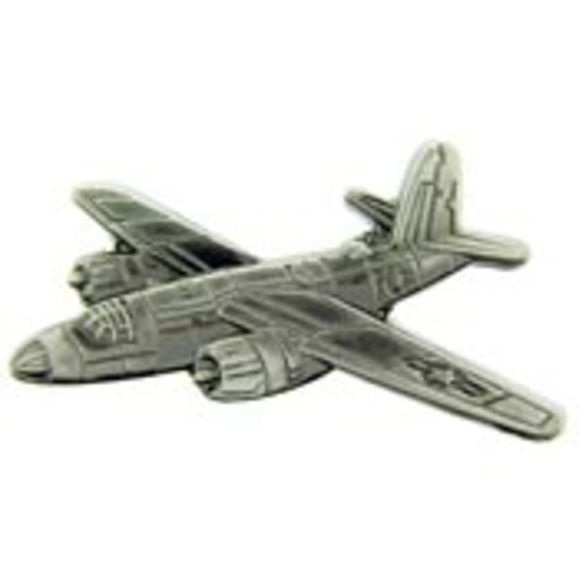 EagleEmblems P16004 Pin-Apl,B-26 Marauder (Pwt) (2-3/8'')