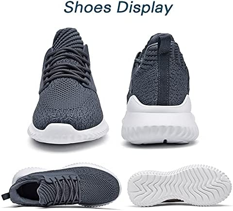 Akk Running Shoes for Men Sneakers Lightweight Comfy Casual Memory Foam Workout Shoes for Walking Tennis Athletic Indoor Outdoor