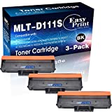 (3X Black) Compatible T111S MLT-D111S Toner Cartridge 111S for Samsung Xpress M2020 M2020W M2022 M2022W M2070 M2070W M2070F Printer, Sold by EasyPrint