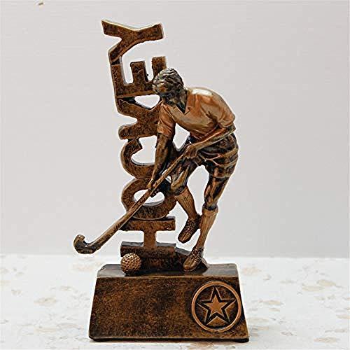 LJXLXY Sport hars golf herdenking trofee milieuvriendelijke hars sculptuur producten huis woonkamer desktop display stand Decoraties Art Craft