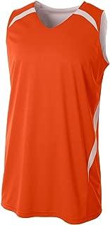 A4 Sportswear 2-Color Reversible Custom or Blank Back Basketball Uniform Tank