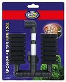Aqua Nova Doble Armiger Filtro de Espuma.–AQUANOVA nsf120, bioschaumstoff: Altura 8cm, diámetro 5cm, Altura...