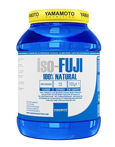 Yamamoto Nutrition Iso - FUJI proteine del siero di latte isolate ultrafiltrate - 700 g gusto neutro