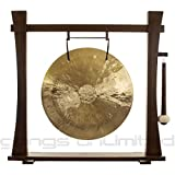"""22"""" Wind Gong on Spirit Guide Gong Stand"""