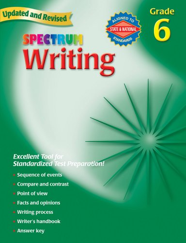 Writing, Grade 6 (Spectrum)