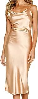 BOOB-88 Womens Dresses, Women Sexy Sleeveless Cold Shoulder Backless Dress Nightdress Party Dress