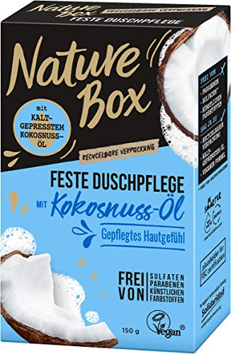 Nature Box Vaste douchegel kokosolie, 150 g