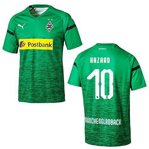 PUMA BMG Borussia MÖNCHENGLADBACH Trikot 3rd Herren 2018/2019 - Hazard 10, Größe:L
