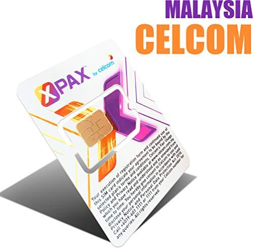 Malaysia Prepaid Sim Card-2.2GB 4G/LTE High Speed Data-7 Days Travel Sim