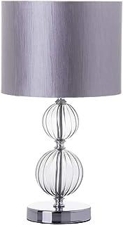 Lámpara de sobremesa moderna transparente de cristal para salón Arabia - LOLAhome