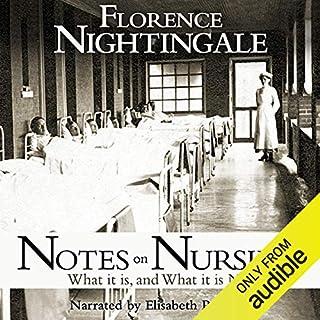 Notes on Nursing audiobook cover art