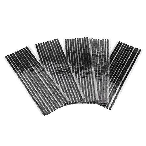 Autoreifen-Reparatur-Schnüre, 50pcs Gummireifen-Pannenreparatur-Streifen kein Bedarf an Kleber Große auslauffreie Funktion