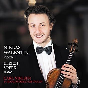 Carl Nielsen 4 Grand Works for Violin