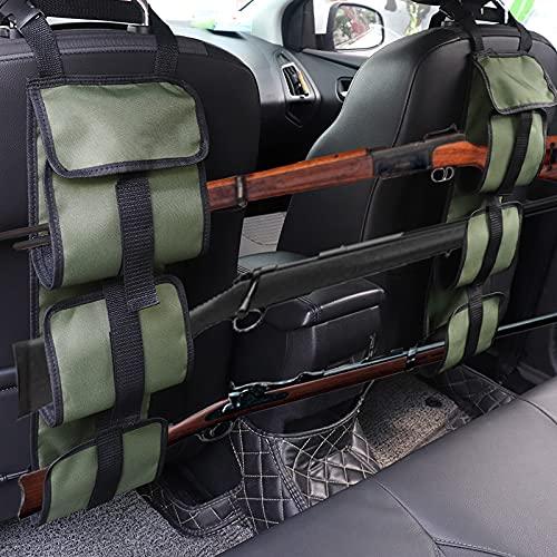 KOSIBATE Seat Back Gun Rack, Truck Gun Rack for Hunting...