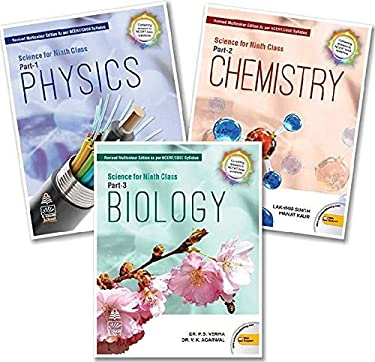 Combo Pack: Science for Class 9 with Free Virtual Reality Gear (2020-2021 Examination)