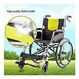 Aleación de aluminio ligera silla de ruedas, silla de ruedas fuera fácil toma portátil de operadora móviles usadas for discapacitados en silla de ruedas, y los usuarios de movilidad puede soportar 200