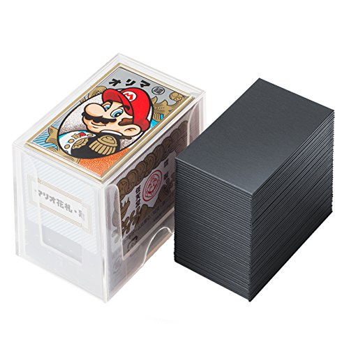 Nintendo Mario playing cards (black)