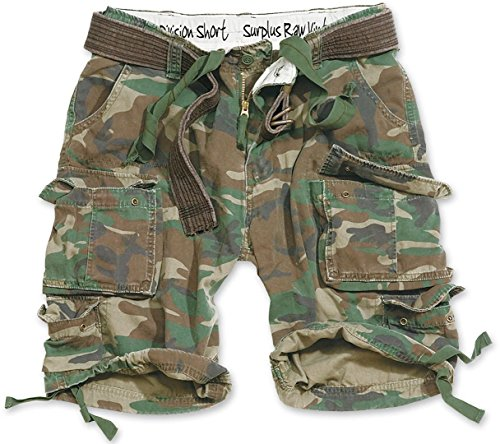 Surplus Division Shorts XXL Woodland
