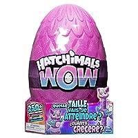 Uovo ri-schiacciabile: all'interno del più grande uovo di Hatchimals di sempre, si potrebbe schiudere un Hatchimals WOW rosa o viola in soli 5 minuti! Poi, estendere il gioco di uova e schiudersi ancora e ancora — ogni volta che Llalacorn si sveglia,...