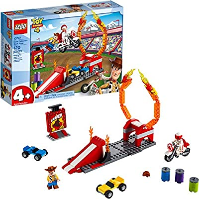 LEGO | Disney Pixar's Toy Story Duke Caboom's Stunt Show 10767 Building Kit (120 Pieces) from LEGO