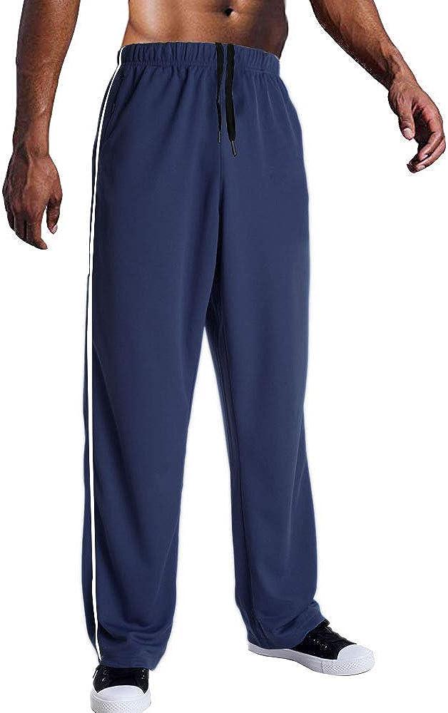 EVERWORTH Men's Mesh Workout Jogging Quick Active Swea Dry Tucson Mall Pants Sales for sale