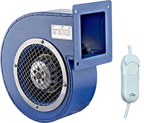 Ventilatore Radiale Industriale SGF160ER 1150m3 h Ventilatore Centrifugo con regolatore da 500 W Ventilatore Caldaia Ventilatore a Chiocciola