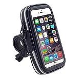 Jlyifan Soporte de pantalla táctil para bicicleta con GPS, impermeable, para iPhone 7 / Samsung Galaxy S7 / A3 / Motorola Moto G5 / E4 / Wileyfox Swift 2-5 pulgadas HD